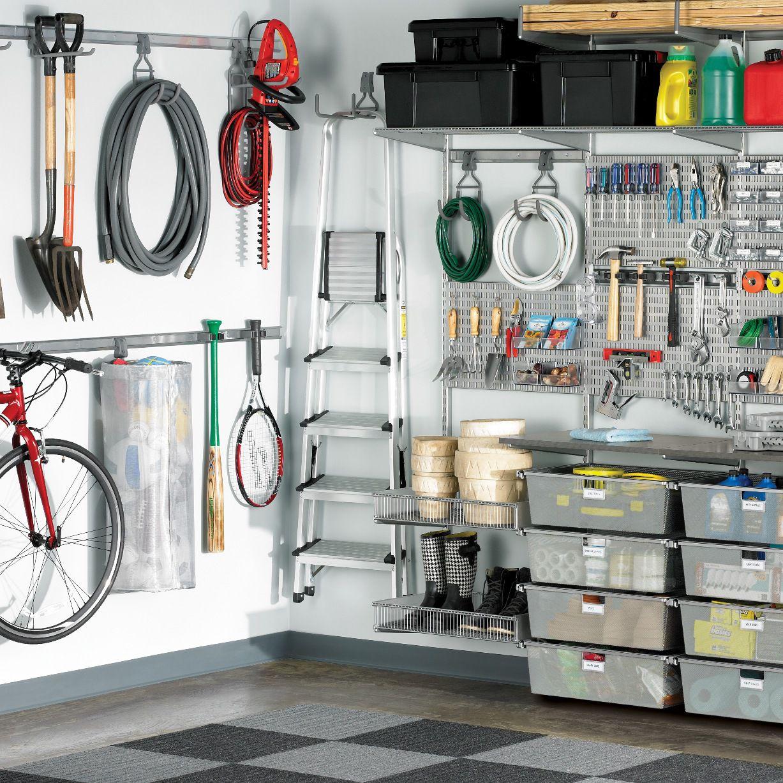 Rangements Elfa pour votre garage